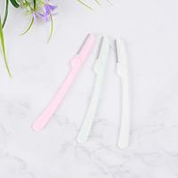 Bộ 3 dao cạo chân mày mini gấp khúc tiện lợi phong cách Hàn Quốc - MN012