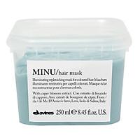 Kem ủ Davines Minu Hair Mask giữ màu tóc nhuộm chính hãng Ý 250ml