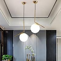 Combo đèn thả bàn ăn trang trí nội thất MOONLAPM hiện đại mạ Crom sang trọng - tạo điểm nhấn mạnh mẽ cho không gian nội thất nhà bạn