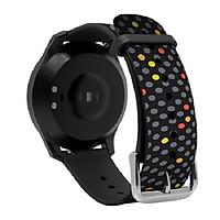 Dây Thay thế cho đồng hồ thông minh Q-Watch I-gotU Q-90, Q82 - màu Chấm Bi - Hàng chính hãng