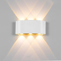 Đèn LED gắn tường trang trí 6 vệt sáng cao cấp