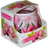 Ly nến thơm tinh dầu Admit Magnolia 85g QT01889 - hoa mộc lan