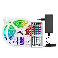 dải đèn LED 32,8ft. Đèn LED RGB 300 với 44 phím IR Remote 20 màu chống nước