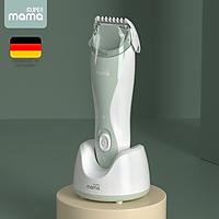 Tông đơ cắt tóc cho bé nhãn hiệu Super Mama S-3689 Công suất: 5W Lưỡi ceraramic - HÀNG CHÍNH HÃNG