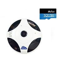 CAMERA QUAY TOÀN CẢNH 360 ĐỘ VITACAM VR1080 FULLHD + THẺ NHỚ 32GB - HÀNG CHÍNH HÃNG