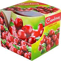 Ly nến thơm Admit ADM1934 Cranberry 100g (Hương việt quất hoang dã)