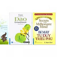Combo 2 cuốn: Bí Mật Tư Duy Triệu Phú, Đạo - Con Đường Không Lối (Tặng kèm bookmark danh ngôn hình voi)