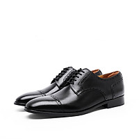 Homme Winchester - Cap Toe Derby Italian Leather Blucher Shoes