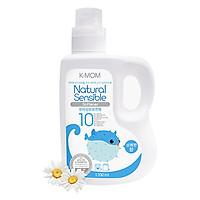 Nước xả vải hữu cơ K - Mom Hàn Quốc dạng can (1700ml) - Xanh