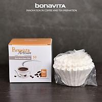 Giấy lọc Cà Phê cao cấp NEXT WAVE Original White Paper Filter for 1~2cups-Economy Pack(100 cái / túi)- Chính hãng Brewista