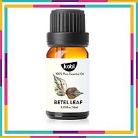 Tinh Dầu Lá Trầu Không Kobi Piper Betel Leaf Essential Oil Giúp Chống Viêm Nhiễm, Giảm Đau, Kích Thích Tiêu Hóa - 10ml