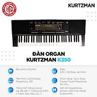 Đàn Organ Kzm Kurtzman K350 - Màu đen - Hàng chính hãng
