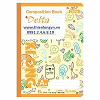 Sổ may dán gáy A4 - 260 trang; Klong 925 bìa vàng