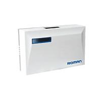 Bộ chuông cửa điện có dây thông minh ROMAN ELG8002 nằm ngang + Chất liệu nhựa ABS cao cấp có biến áp đồng bên trong + Tiết kiệm năng lượng