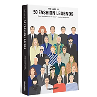 The Lives of 50 Fashion Legends