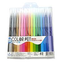 Set 18 bút dạ màu nội địa Nhật Bản
