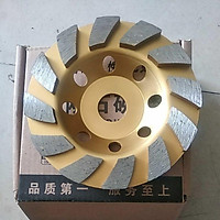 Đá mài bê tông đĩa 125 mm, chén mài bê tông