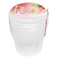 Hộp Nhựa Tròn Terasu 500ml(10 Bộ / Lốc)