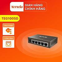 Bộ chia mạng Switch Tenda TEG1005D 5 cổng Ethernet 1000Mbps - Hàng Chính Hãng