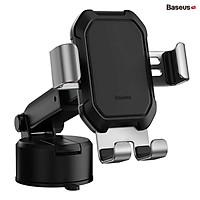 Giá đỡ điện thoại hút chân không dùng gắn kính hoặc táp lô trên xe hơi Baseus Tank Gravity Car Mount (Suction Base Holder for Car) - Hàng nhập khẩu