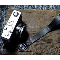 Dây máy ảnh Handstrap da bò đen tuyền sang trọng – RAM Handstrap - Hàng chính hãng