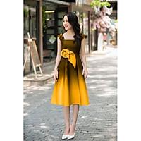 Đầm dự tiệc phối màu bombre TRIPBLE T DRESS - size M/L (kèm ảnh/video thật) MS110Y