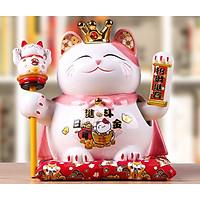 4 Mẫu Vua Mèo Thần Tài 24CM~27CM kèm Hộp Quà Sang Trọng