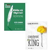 Sách - Combo Nghệ Thuật Bán Hàng: Khiêu Vũ Với Ngòi Bút và Content Đúng Là King
