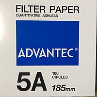 Giấy lọc định lượng số 5A, đường kính 185mm
