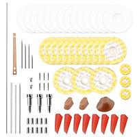 Flute Repair Maintenance Tools Kit Screws+Gaskets+Pads+Dowels+Reed Musical Instrument Accessories