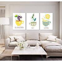 Tranh phòng khách dễ thương - Tranh canvas