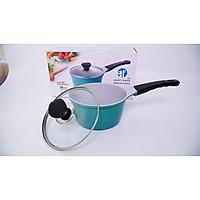 Quánh Nấu Bột cho em bé màu xanh pastel  size 18 - Happy Home Pro