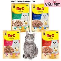 Pate Cho Mèo Me-O Delite Gói 70g