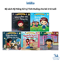Sách Kỹ Năng Xử Lý Tình Huống Cho Bé 3 - 12 tuổi (bộ 5 cuốn)