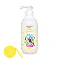 Dầu gội em bé Organique Baby Shampoo 300ml - Tặng Kèm Mút Rửa Mặt