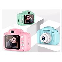 Camera HD 720p Sắc Nét - Máy Ảnh Chụp Ảnh Ghi Video Chất Lượng Cao Dành Cho Trẻ Em Thỏa Sức Sáng Tạo Hàng Nhập Khẩu