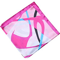 Scarf Women Satin Small Square Scarf Female Printed Colorful Elegant All-match Soft Silk Scarf Gift Lightweight Neckerchief