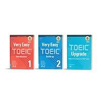 Bộ sách Luyện thi NEW TOEIC. Trình độ Sơ - Trung cấp (Very Easy TOEIC 1 + Very Easy TOEIC 2 + TOEIC Upgrade)