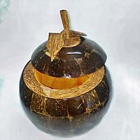 Vỏ bình trà từ gáo dừa ghép