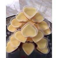 Bộ 50 Khuôn Làm Bánh Flan Rau Câu Sữa Chua Hình Trái Tim Có Nắp