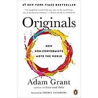 Sách - Originals: How Non-Conformists Move The World (Paperback)