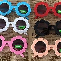Plastic Frame Children's Decorative Round Lens Fashion Sunglasses Cute Glasses