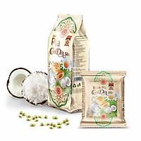 380g Bánh pía CƠM DỪA SỮA tươi MỸ NGỌC [ KHÔNG CÓ sầu riêng & CÓ trứng muối ]