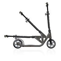 Xe trượt scooter 2 bánh GLOBBER ONE NL 205 cho thiếu niên và người lớn - Đen/Xám
