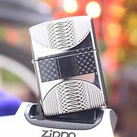 Bật Lửa Zippo 167 Coils & Color Armor High Polish Chrome