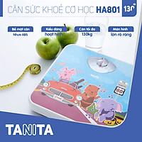 Cân sức khoẻ cơ học Tanita HA801 Nhật Bản Tanita, chính hãng nhật bản,cân cơ học,cân chính hãng,cân nhật bản,cân sức khoẻ y tế,cân sức khoẻ gia đình,cân sức khoẻ cao cấp,120kg,130kg,Cân phân tích chỉ số cơ thể,Cân sức khoẻ mini
