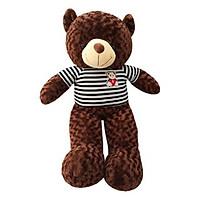 Gấu Bông Oenpe Cao Cấp Khổ Vải 1m Cao 80 cm Màu Nâu - Gấu Kagonk mềm mịn an toàn với mọi độ tuổi