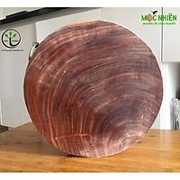Thớt gỗ nghiến 32 cm ( dày 4,5cm))