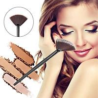 Black Makeup Sector Brush Face Blending/Contour/Cheek Blusher/Highlighter