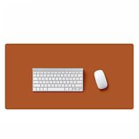 Thảm Da Trải Bàn Làm Việc Deskpad Cỡ 30 x 60 cm - Hàng Nhập Khẩu